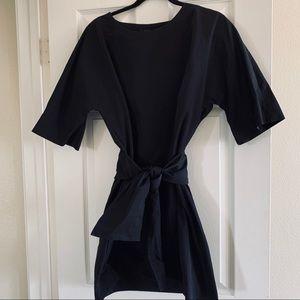 COS • Neoprene Feel Tie Waist Dress